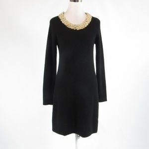 Black MILLY sweater dress M